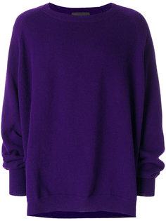 свитер с локтевыми заплатками Haider Ackermann