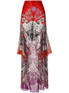 длинная юбка с орнаментом Roberto Cavalli
