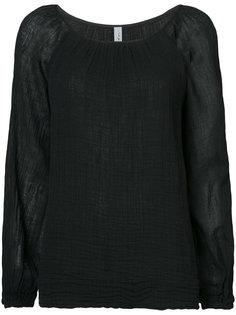 long-sleeve raglan blouse  Raquel Allegra