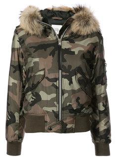 камуфляжная куртка-бомбер Jenny Sam.