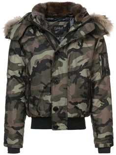камуфляжная куртка-бомбер  Sam.