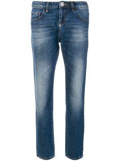 джинсы с выцветшим эффектом  Philipp Plein