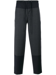 "брюки в стиле ""кэжуал"" с контрастными панелями Cédric Charlier"