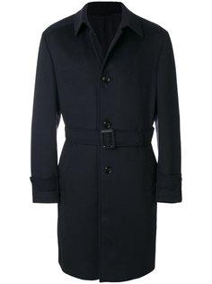 однобортное пальто Ermenegildo Zegna