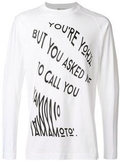 футболка Call Y-3