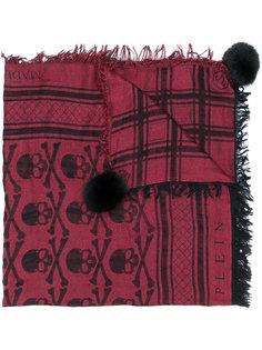 шарф Candy с меховыми помпонами Philipp Plein