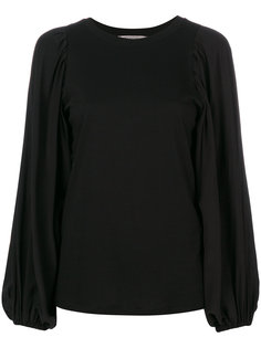 блузка с рукавами-фонариком Sportmax