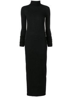 приталенное платье макси  Rick Owens Lilies