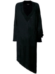 асимметричное платье шифт  Ann Demeulemeester