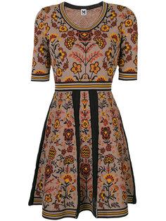 платье с цветочным принтом  M Missoni