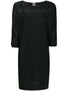 полупрозрачное платье  M Missoni