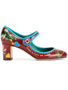 туфли Мэри Джейн Dolce & Gabbana
