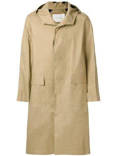 удлиненное пальто с капюшоном Mackintosh