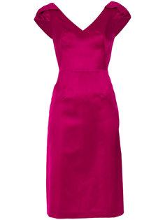 panelled V-neck dress Tufi Duek