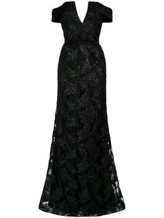 embroidered gown Tufi Duek