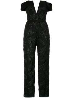 embroidered off the shoulder jumpsuit Tufi Duek