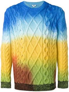 свитер с вязкой косичками Kenzo