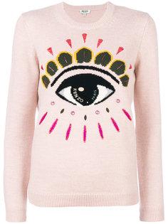 свитер с вышитым глазом Kenzo