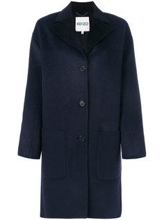 пальто свободного кроя Kenzo