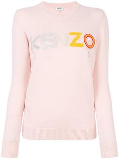 свитер с логотипом бренда Kenzo