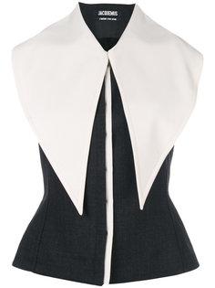 блузка с удлиненным воротником Jacquemus