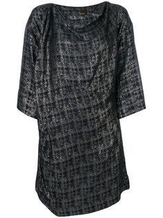 платье с вырезом-лодочкой и драпировками Vivienne Westwood Anglomania