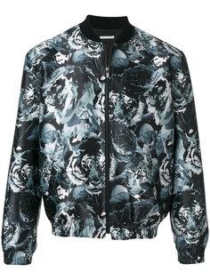 куртка-бомбер  с принтом леопардов Paul & Joe
