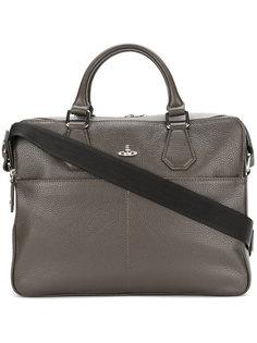 портфель с фирменной бляшкой Orb Vivienne Westwood