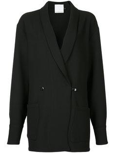 пиджак-смокинг мешковатого кроя Christopher Esber