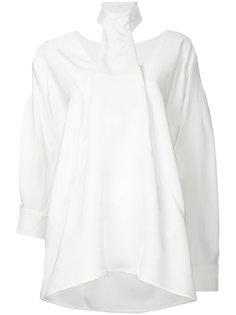 tie-neck drape blouse  Christopher Esber