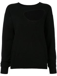 свитер с фигурным вырезом Christopher Esber