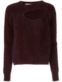 свитер с вырезной деталью Christopher Esber