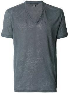 футболка с V-образным вырезом John Varvatos