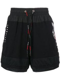 шорты с эластичным поясом Plein Sport
