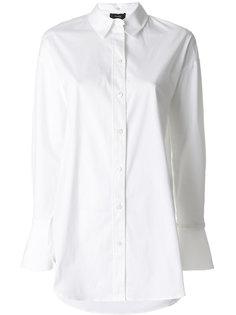 рубашка с расклешенными манжетами  Theory