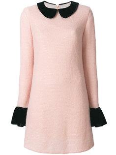 вязаное короткое платье Blanchett Dame