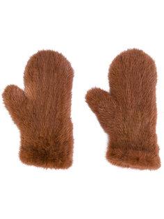 перчатки Four Queues Yves Salomon