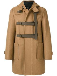 пальто на молнии с капюшоном Nº21