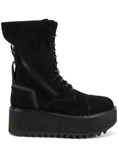 ботинки Vibram на платформе  Bruno Bordese