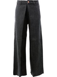 асимметричные длинные брюки Aalto