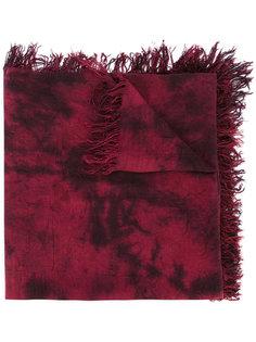 шарф с бахромой и градиентным узором Kazuyuki Kumagai