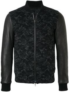 куртка с панельным дизайном Kazuyuki Kumagai