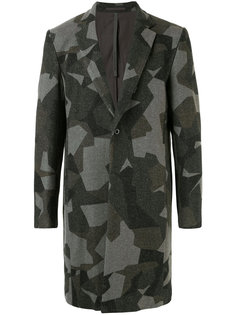 пальто с абстрактным узором Kazuyuki Kumagai