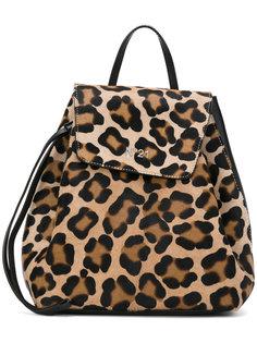 рюкзак со шнурком с леопардовым принтом Nº21
