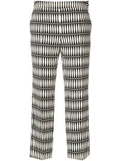 брюки с принтом  Lanvin