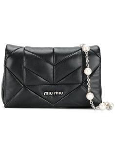 стеганая сумка Miu Miu