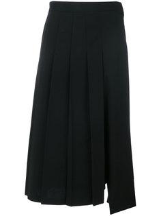 юбка в складку длины миди Junya Watanabe Comme Des Garçons