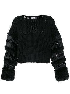вязаный свитер Comme Des Garçons Noir Kei Ninomiya