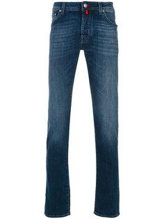 джинсы с рваными деталями Jacob Cohen
