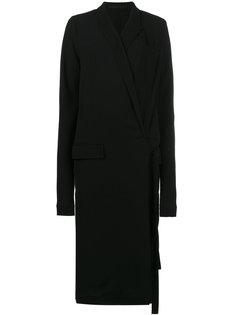 платье средней длины с запахом Haider Ackermann